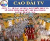 CDTV 70 – INVESTITURE CEREMONY OF NEW CAO DAI DIGNITARIES - 2018