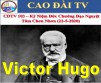 CDTV 103 – IN MEMORY OF VICTOR HUGO (22/5/2020)