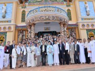THE 90TH GREAT FESTIVAL COMMEMORATING THE HOLY MOTHER GODDESS ( YEAR 2015) AT TAY NINH CAO DAI HOLY SEE
