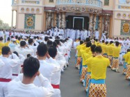 TẾT – LUNAR NEW YEAR 2019 CELEBRATION AT THE CAO DAI HOLY SEE IN TAY NINH