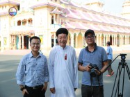 ARAB 24 NEWS AGENCY MADE A REPORTAGE ON CAO DAI RELIGION AT THE CAO DAI TAY NINH HOLY SEE