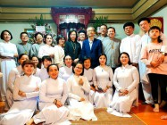WEIXIN SHENGJIAO DELEGATION VISITED TAIPEI CAO DAI CONGREGATION IN TAIWAN