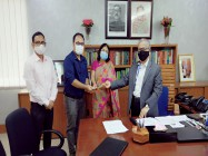 CAO DAI OVERSEAS MISSIONARY GAVE M.PHIL RESEARCH SCHOLARSHIP TO INJAMAM MOJUMDER, UNIVERSITY OF DHAKA, BANGLADESH