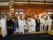 VISIT TO OOMOTO RELIGION IN JAPAN BY CAODAI SACERDOTAL COUNCIL