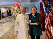 H.E CARDINAL THUONG TAM THANH ATTENDED THE 244th ANNIVERSARY OF THE US INDEPENDENCE DAY IN HCM CITY
